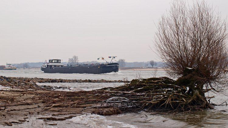binnenvaart Waal